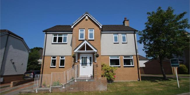 Offers Over £210,000, 4 Bedroom Detached House For Sale in Airdrie, ML6