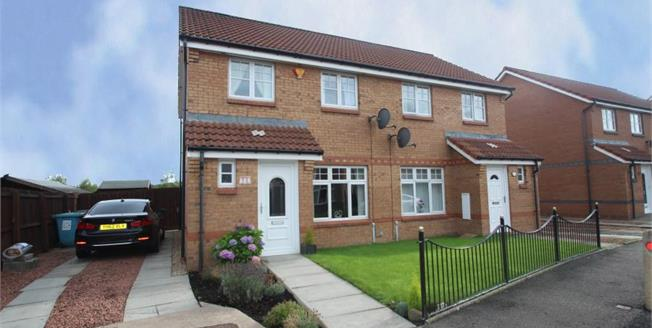Offers Over £115,000, 3 Bedroom Semi Detached House For Sale in Chapelhall, ML6
