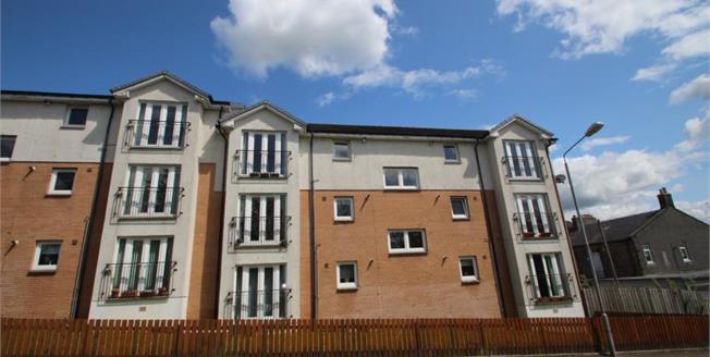 Fixed Price £88,000, 2 Bedroom Upper Floor Flat For Sale in Airdrie, ML6