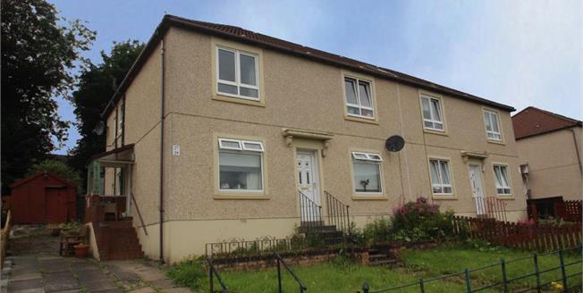 Offers Over £65,000, 2 Bedroom Upper Floor Flat For Sale in Coatbridge, ML5