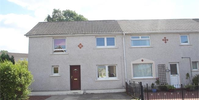 Offers Over £80,000, 3 Bedroom End of Terrace House For Sale in Airdrie, ML6