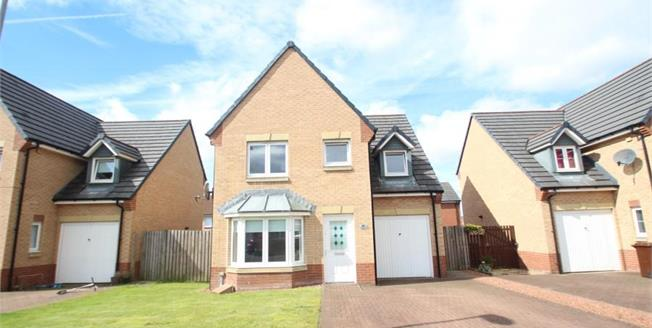Offers Over £182,000, 4 Bedroom Detached House For Sale in Airdrie, ML6