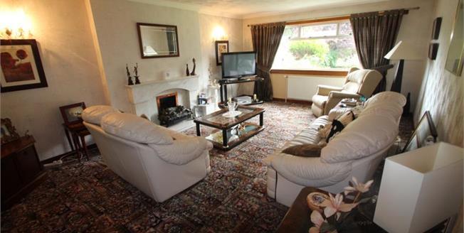 Offers in the region of £175,000, 3 Bedroom Detached Bungalow For Sale in Coatbridge, ML5