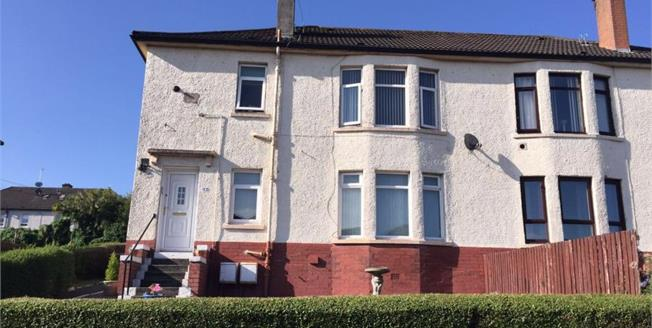 Fixed Price £65,000, 2 Bedroom Ground Floor Flat For Sale in Glasgow, G33