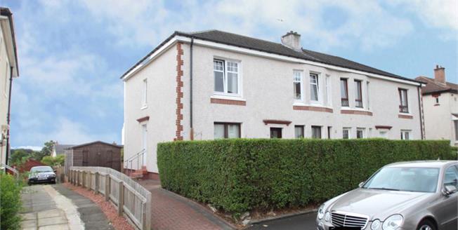Offers Over £84,995, 2 Bedroom Upper Floor Flat For Sale in Glasgow, G33