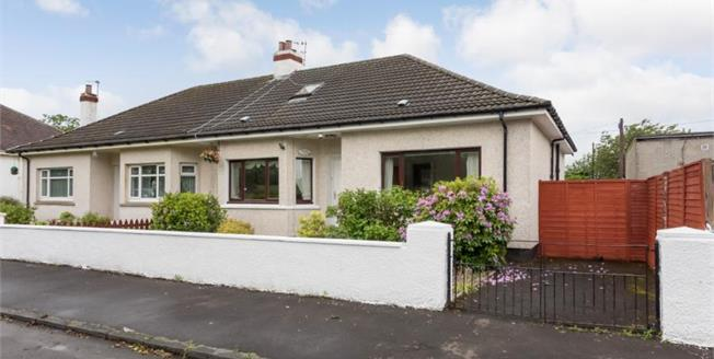 Offers Over £159,950, 3 Bedroom Semi Detached Bungalow For Sale in Glasgow, G33