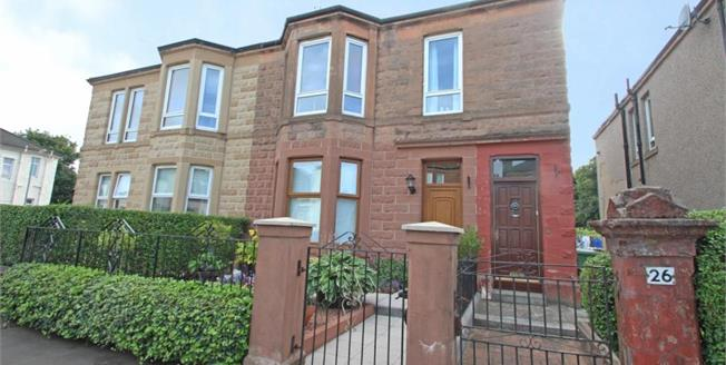 Offers Over £79,995, 2 Bedroom Upper Floor Flat For Sale in Glasgow, G32