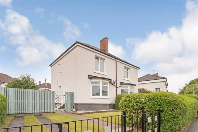 2 Bedroom Semi Detached House For Sale in Glasgow for Offers Over