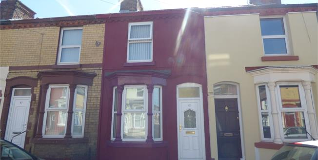 Offers Over £65,000, 2 Bedroom Terraced House For Sale in Liverpool, L15