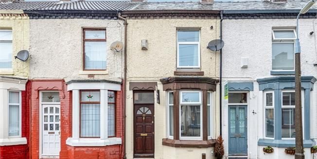 Asking Price £115,000, 2 Bedroom Terraced House For Sale in Liverpool, L19
