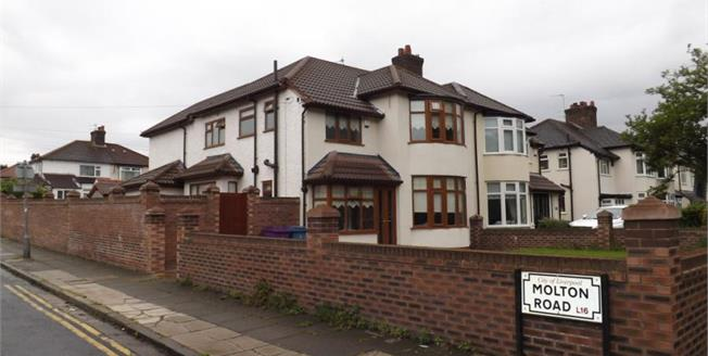 Asking Price £340,000, 3 Bedroom Semi Detached House For Sale in Wavertree, L15