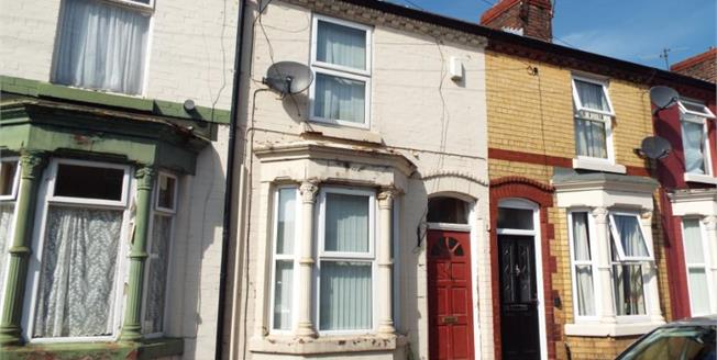 Offers Over £55,000, 2 Bedroom Terraced House For Sale in Liverpool, L15