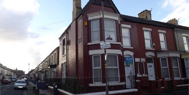 Asking Price £128,000, 3 Bedroom Terraced House For Sale in Liverpool, L15