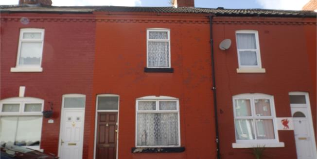 £60,000, 2 Bedroom Terraced House For Sale in Liverpool, L15