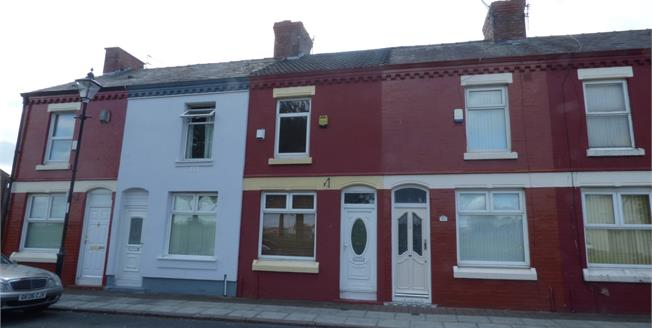 Offers in the region of £80,000, 2 Bedroom Terraced House For Sale in Liverpool, L8