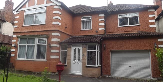 £440,000, 5 Bedroom Detached House For Sale in Liverpool, L19
