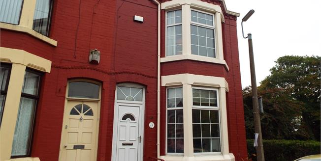 Price on Application, 3 Bedroom Terraced House For Sale in Liverpool, L17