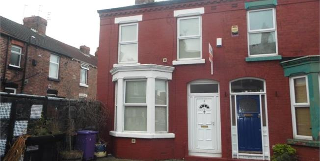 £96,000, 3 Bedroom End of Terrace House For Sale in Wavertree, L15