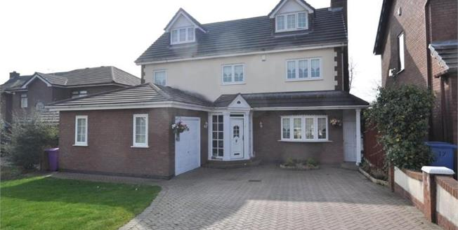 £415,000, 5 Bedroom Detached House For Sale in Liverpool, L17