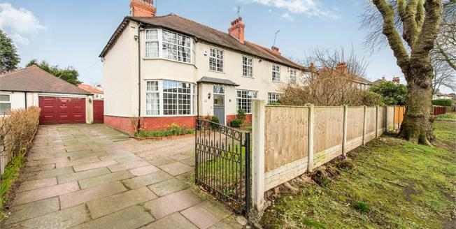 Offers in the region of £470,000, 4 Bedroom Semi Detached House For Sale in Liverpool, L18