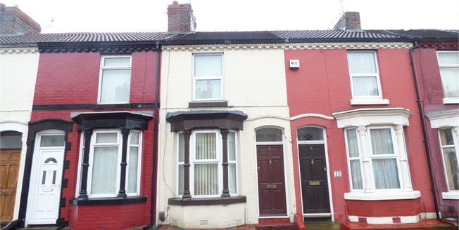 Offers Over £65,000, 2 Bedroom Terraced For Sale in Liverpool, L15