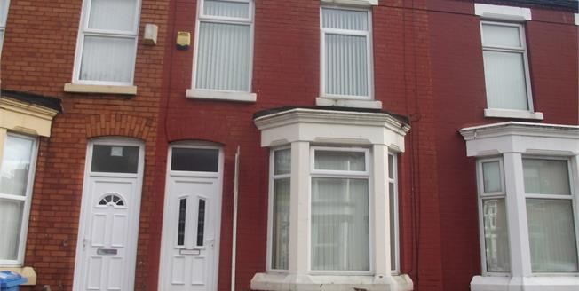 Offers Over £105,000, 3 Bedroom Terraced House For Sale in Liverpool, L15