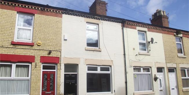 Offers Over £48,000, 2 Bedroom Terraced House For Sale in Liverpool, L7