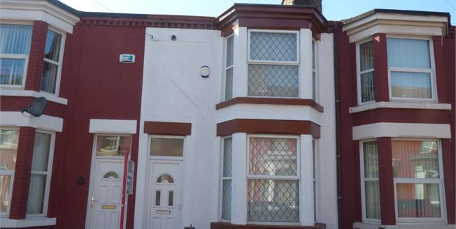 Asking Price £115,000, 3 Bedroom Terraced House For Sale in Liverpool, L15