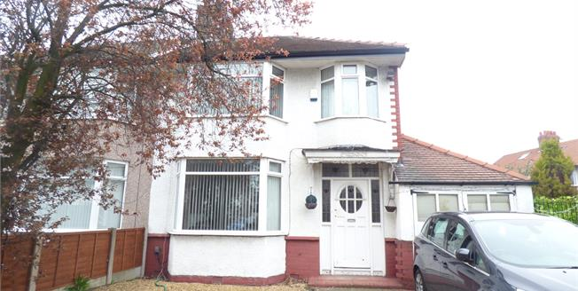 Asking Price £265,000, 3 Bedroom Semi Detached House For Sale in Liverpool, L18