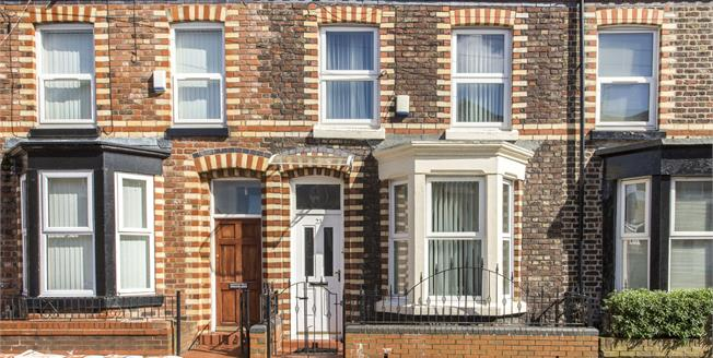 Asking Price £90,000, 2 Bedroom Terraced House For Sale in Merseyside, L8