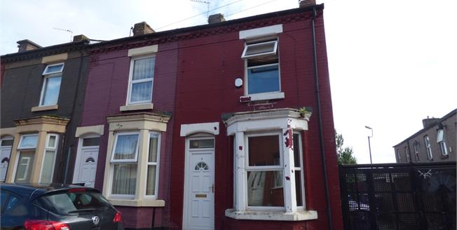 Asking Price £75,000, 2 Bedroom Terraced House For Sale in Liverpool, L15
