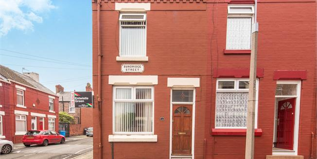 Offers Over £70,000, 2 Bedroom For Sale in Liverpool, L8