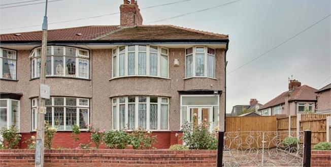 Offers Over £240,000, 3 Bedroom Semi Detached House For Sale in Liverpool, L17