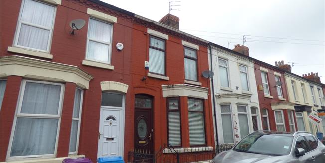 Offers in the region of £120,000, 3 Bedroom Terraced House For Sale in Liverpool, L15