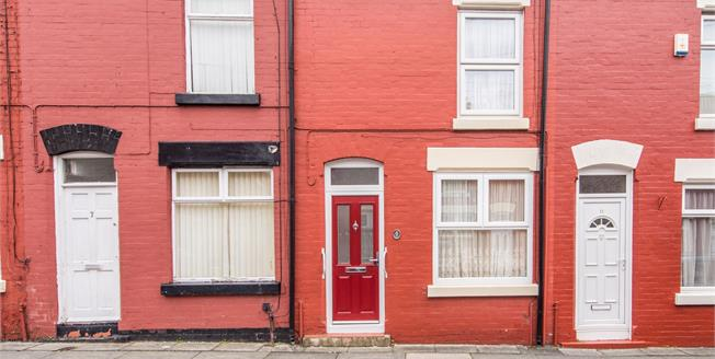 Offers Over £70,000, 2 Bedroom Terraced House For Sale in Liverpool, L15