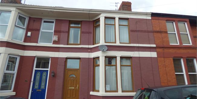Asking Price £140,000, 3 Bedroom Terraced House For Sale in Liverpool, L15