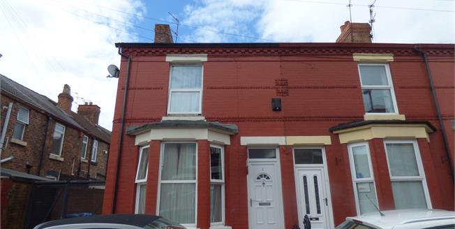 Offers in excess of £90,000, 2 Bedroom Terraced House For Sale in Liverpool, L15