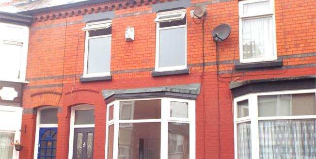 Asking Price £125,000, 3 Bedroom Terraced House For Sale in Liverpool, L19