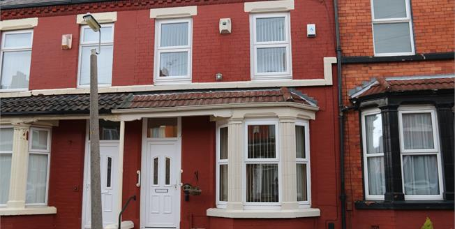 Price on Application, 3 Bedroom Terraced House For Sale in Liverpool, L15