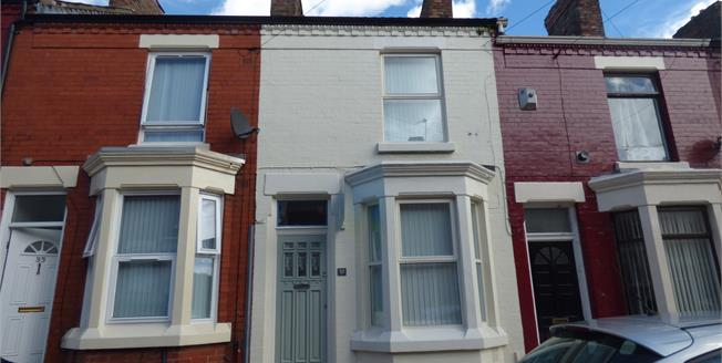 Asking Price £90,000, 2 Bedroom Terraced House For Sale in Liverpool, L8