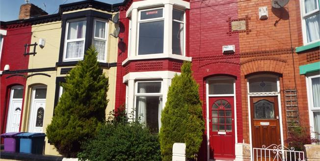 Asking Price £90,000, 2 Bedroom Terraced House For Sale in Wavertree, L15