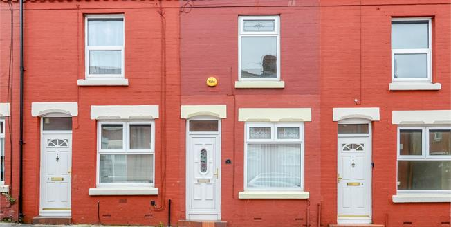 Offers Over £80,000, 2 Bedroom Terraced House For Sale in Liverpool, L15