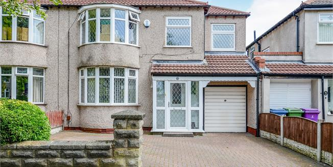 Asking Price £280,000, 4 Bedroom Semi Detached House For Sale in Liverpool, L15
