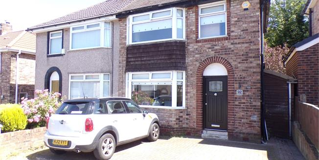 Offers Over £174,950, 3 Bedroom Semi Detached House For Sale in Liverpool, L16