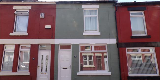 Asking Price £144,000, 2 Bedroom Terraced House For Sale in Liverpool, L17