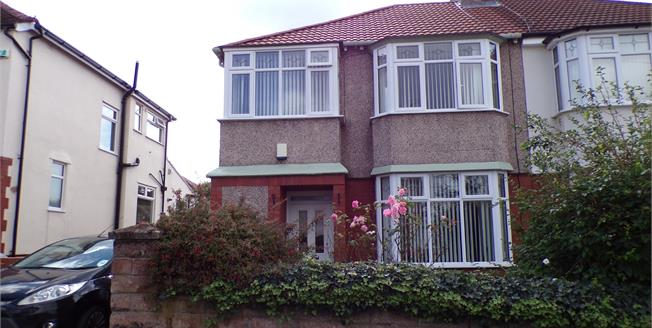 Asking Price £325,000, 3 Bedroom Semi Detached House For Sale in Liverpool, L19