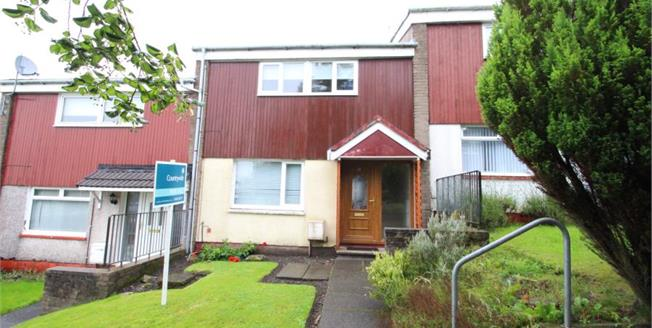 Fixed Price £82,000, 2 Bedroom Terraced House For Sale in East Kilbride, G75