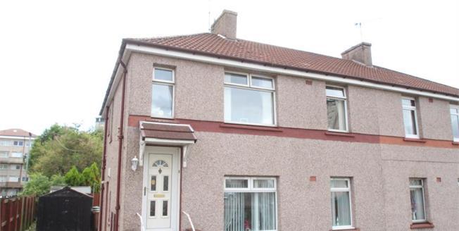 Offers Over £55,000, 2 Bedroom Upper Floor Flat For Sale in Motherwell, ML1