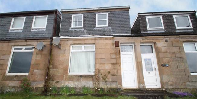Fixed Price £70,000, 2 Bedroom Terraced House For Sale in Netherburn, ML9
