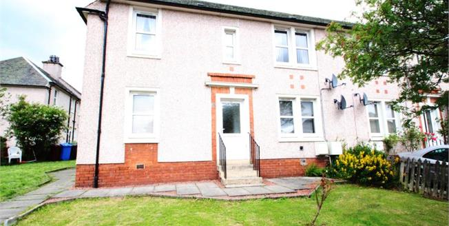 Offers Over £55,000, 2 Bedroom Ground Floor Flat For Sale in Carluke, ML8